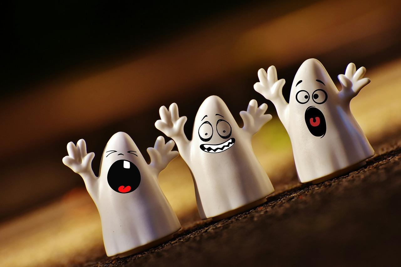 Una historia de fantasmas y una fábula de animales en #EDaulaBLOG via @ftsaez
