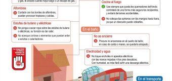 Fruto del Plan de #LecturaFácil @bilbao_udala 2017-2019 Folleto y cartel #seguridad #mayores #InformaciónAccesible
